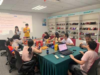 海壳业务部中秋节游戏活动。