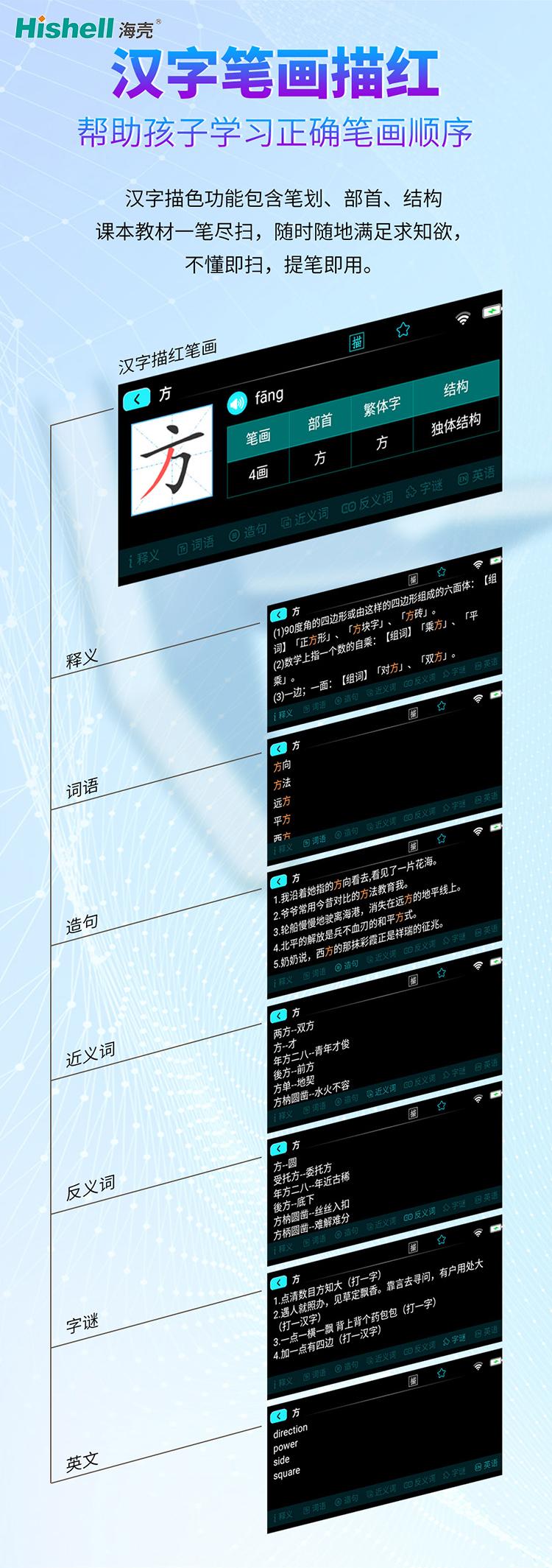 扫描翻译词典笔